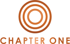 Chapter One Logo - Copper